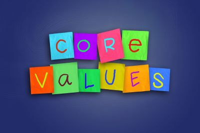 Vision and Values. Developing your company profile into your brand.